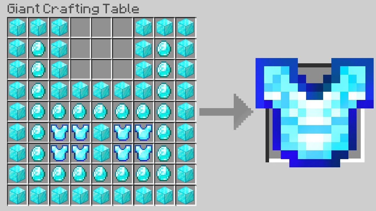 Minecraft, But Crafting Is GIANT..