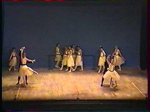 Ballet Tableau de Degas