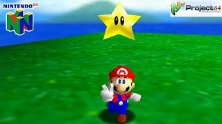 Super Mario 64 - Gameplay Nintendo 64 1080p (Project 64)