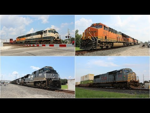 Labor Day Railfanning 9/4/17 in Rosenberg, TX ft Exec MAC, TFM, NS M-2, H1's, T4's, & more!