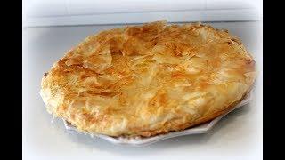 рецепты домашней кухни как приготовить пирог сырно творожный рецепт от Валентины видео рецепт