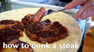 How to Cook a Steak on Cast Iron