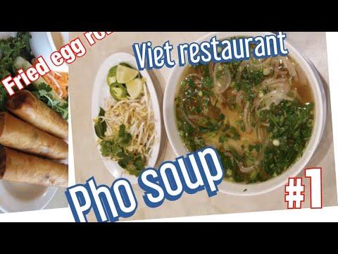 Vietnamese Restaurant  Mukbang Soup