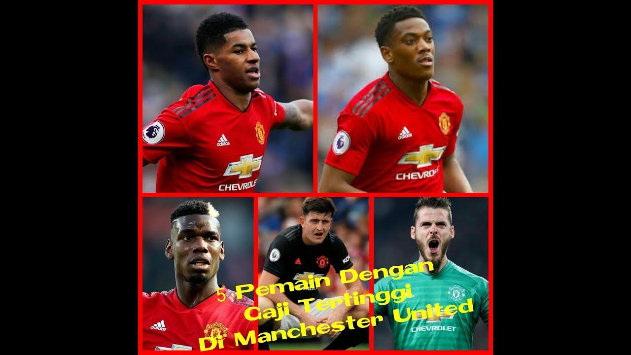 WOW 5 Pemain Gaji Tertinggi Di Manchester United