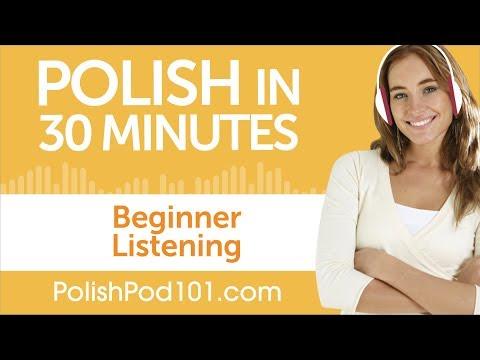 30 Minutes of Polish Listening Comprehension for Beginner