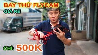 MỞ HỘP Mua Flycam giá rẻ 500k trên LAZADA, SHOPEE. Sao rẻ vậy? Cái Kết Đắng Lòng | MUA HÀNG ONLINE