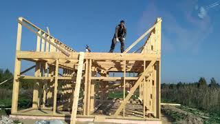 Строительство дома по каркасной технологии 1