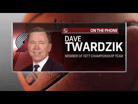 1977 NBA Champion Dave Twardzik Joins Courtside