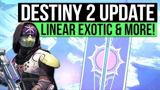 DESTINY 2 NEWS | New Titan Character Revealed, Linear Exotic Fusion, Cabal Gear Set & New Vex Vault!