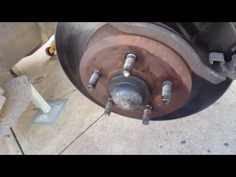 Front brake rotor and pad replacment on Ba ford falcon