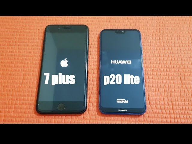 huawei p20 lite nova 3e vs iphone 7