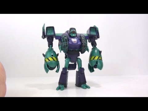 Video Review of the Transformers Animated; Lugnut
