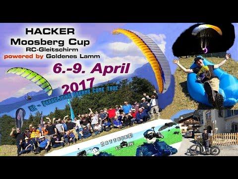 RC-Paragliding: Hacker Para-RC Moosberg Cup Season Opening 2017