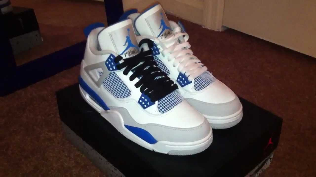 27b8e1f4cbb2ae Lace Swap Weekly - Jordan IV Military Blue - YouTube