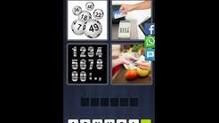 4 Bilder 1 Wort [Lotto, Kreditkarte, Zahlen, Hände+Geld]