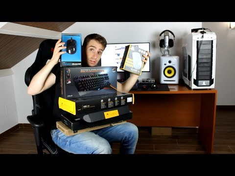 Mi habitación, mi SETUP, mis teclados, mis ratones/mouse gaming,mi PC,mis gabinetes   ROOM TOUR 2017