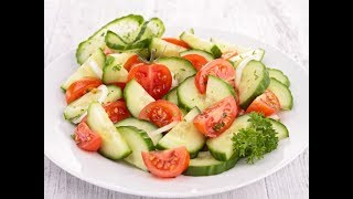 Эксперимент  летний салат на зиму без консервации