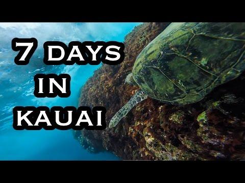 7 Days In Kauai