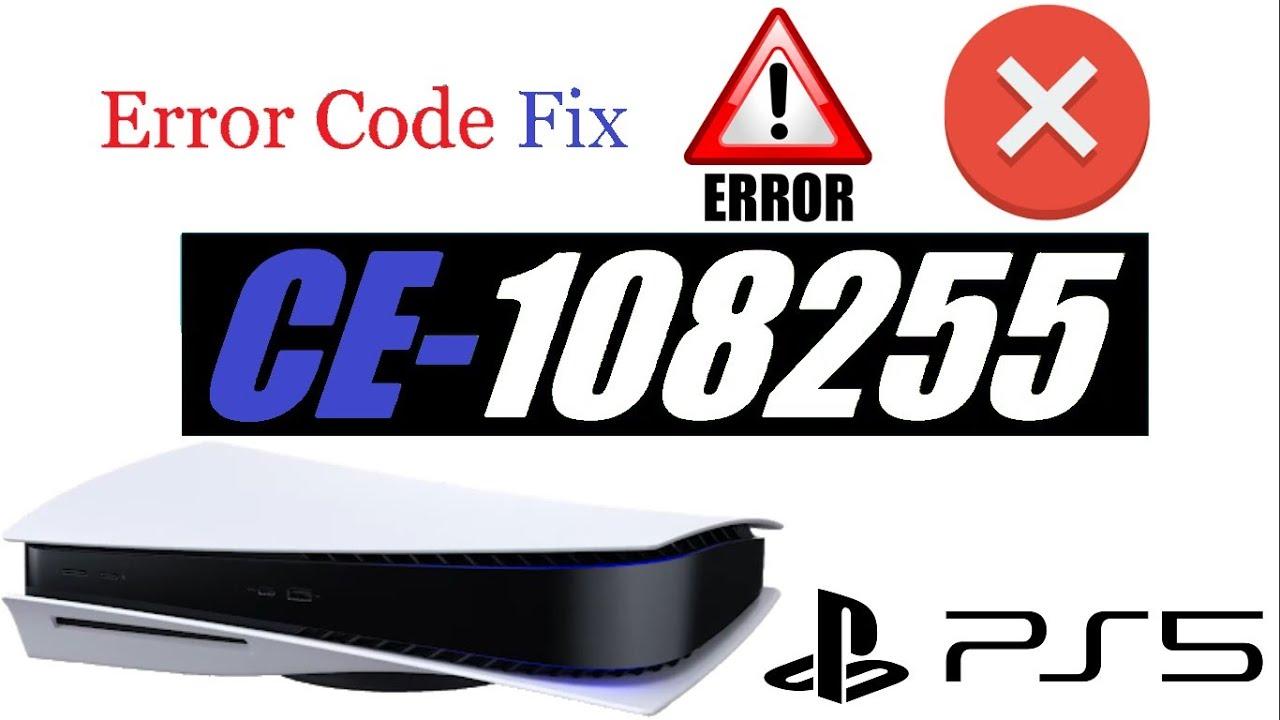 Download PS5 Crashing Error CE-108255 FIX!