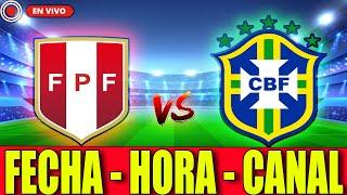 ✅ COPA AMERICA 2021: PERU vs BRASIL [Fecha, Hora y Canal] 🏆⚽
