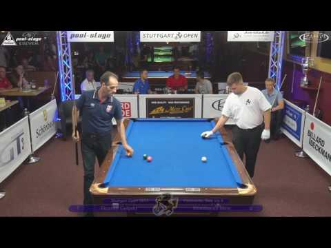 Stuttgart Open 2017, No. 18, Ricardo Gutjahr vs. Konstantin Miric, 10-Ball, Pool-Billard