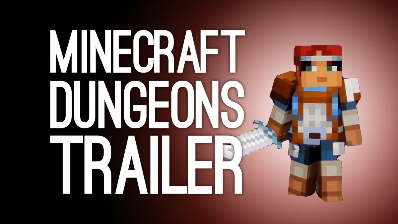 Minecraft Dungeons Gameplay Trailer Minecraft Dungeons
