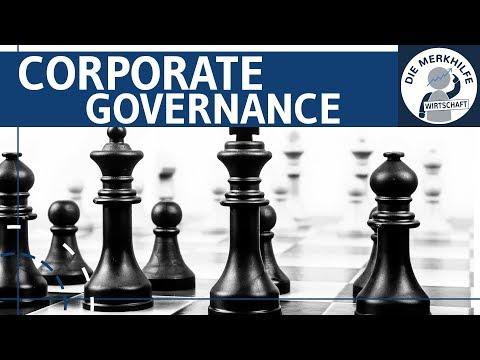 Was Ist Corporate Governance? Lenken Von Managern Einfach Erklärt - Definition & Mechanismen - Ufü