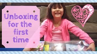 Kendra's Baby Alive unboxing for the first time!