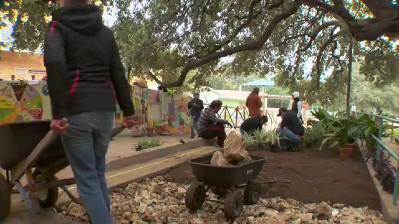 Austin Rain Garden Partnership - YouTube
