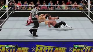 vuclip Shinsuke Nakamura Vs. Dolph Ziggler | Debut WWE Fastlane 2017 PPV Match | WWE 2K17