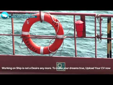 Merchant Navy ship | Life Buoy