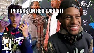 Hilarious Pranks on the Red Carpet!