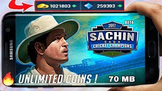 How to get unlimited coins in sachin saga cricket game | unlimited coins in sachin saga (हिंदी)