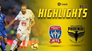 HIGHLIGHTS   Newcastle Jets vs Wellington Phoenix