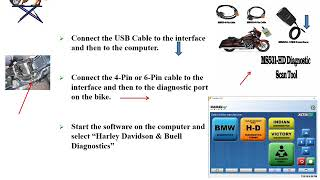 Diagnostic Scanner /& Performance Tuner MS531-HD Harley Davidson Scan Tool
