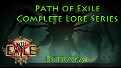 Path of Exile Complete Lore Series: Betrayal (The Syndicate)