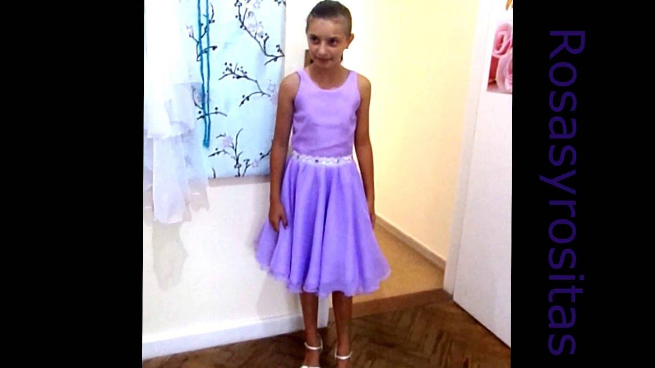 Rosasyrositas vestido lila - YouTube