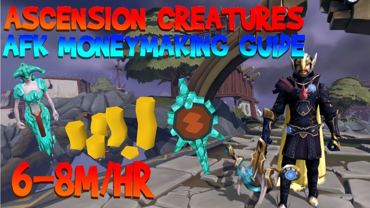 Download Runescape 3 - AFK Moneymaking Guide - 6-8m/hr Ascension Creatures [Capsarius]