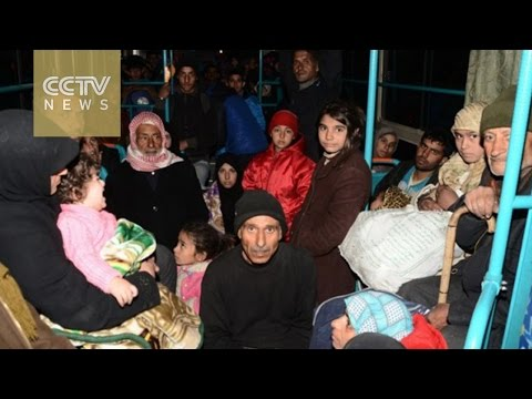 Nearly 10,000 civilians flee east Aleppo amid government offensive
