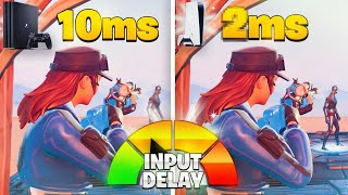 I Tested The PS4 vṡ PS5 *INPUT DELAY* in Fortnite (PS5 Response Time & Input Lag Test)