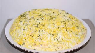 Салат со сметаной, слоеный салат овощной, салат для детей, РЕЦЕПТЫ, РЕЦЕПТ САЛАТА