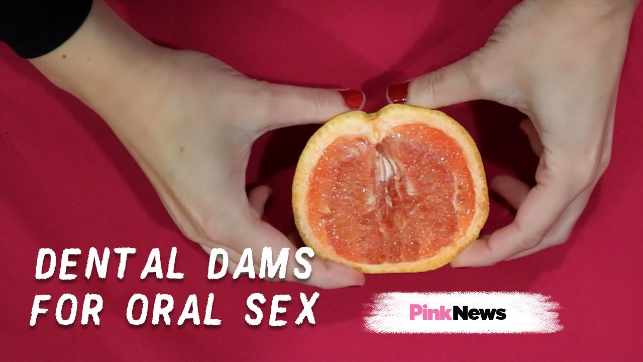 Oral Sex Demonstration how do dental dams work?