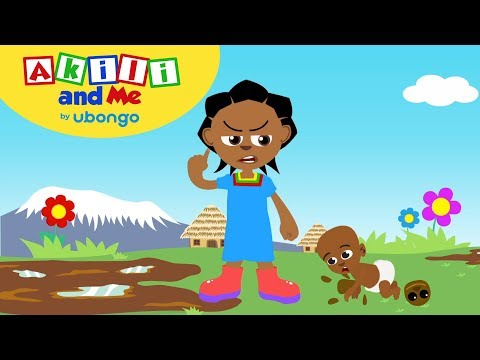 Angry Akili! | Social Emotional Skills with Akili and Me | Cartoons for Preschoolers