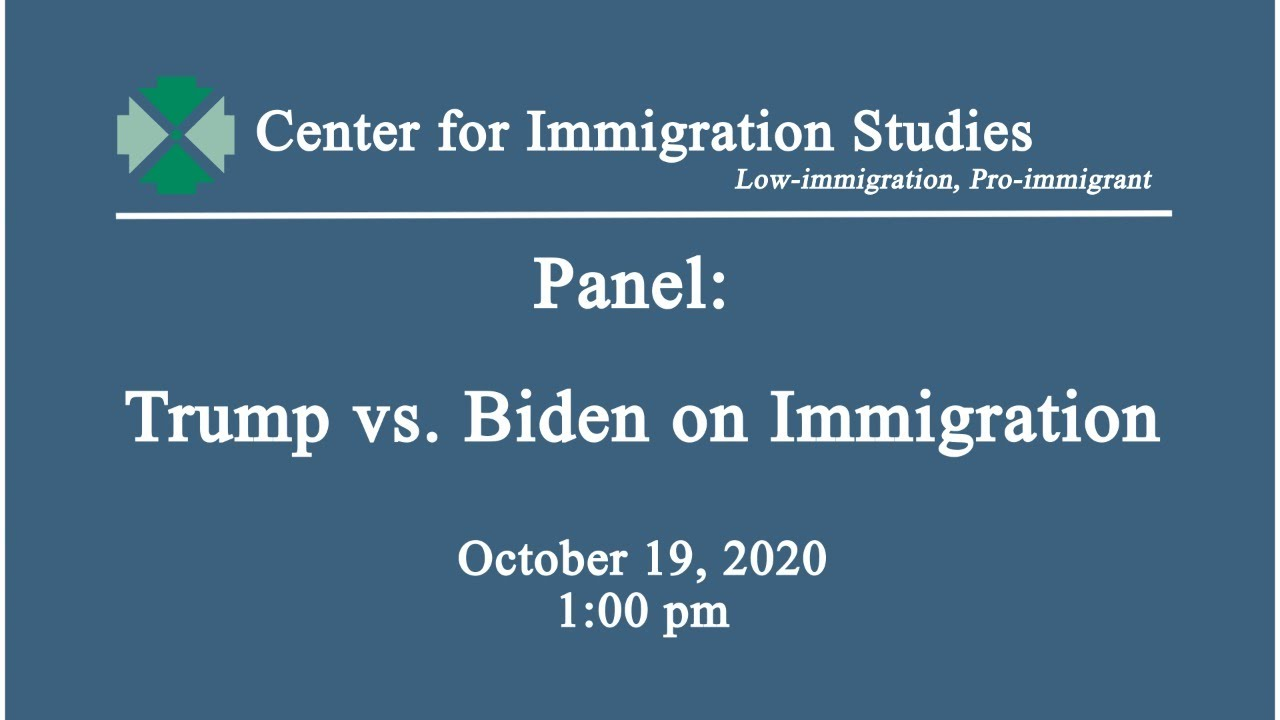 Panel: Trump vs. Biden on Immigration
