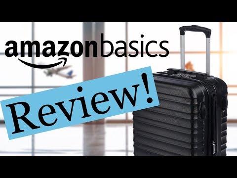 "AmazonBasics 20"" Hardside Carry-On Review!   Travel Tips"