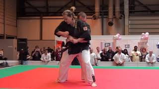 Ishin Ryu Jujitsu at the Martial Arts Show 2011 (Andy and Sheila)