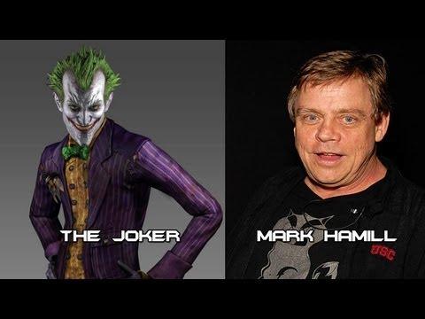 Characters and Voice Actors - Batman: Arkham Asylum