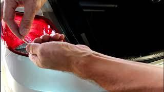 Замена задних фонарей Hyundai Solaris 2016 года Хендай Солярис 1,6