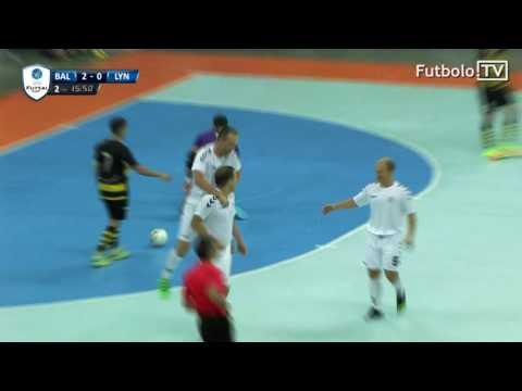 UEFA Futsal taurė: Baltija - Lynx 4:2 įvarčiai