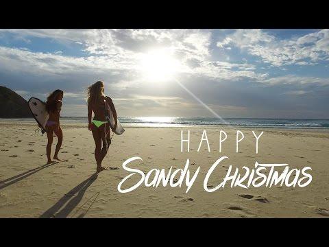 KALOEA Surfer Girls - Happy Sandy Christmas   Australia